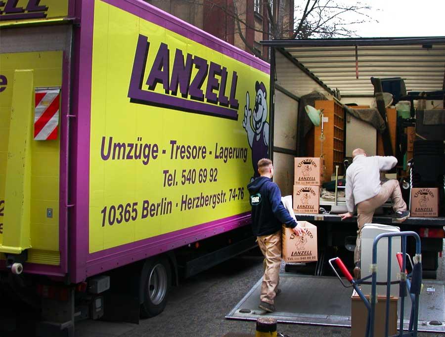 Umzugsunternehmen Berlin Bewertung umzug berlin die lanzell umzugsspedition berlin bringt und